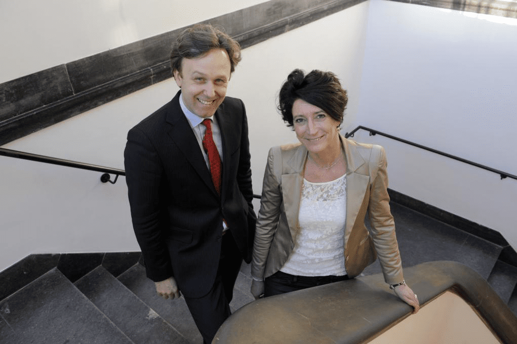 Jean-Pierre van der Rest en Kirsten Lang