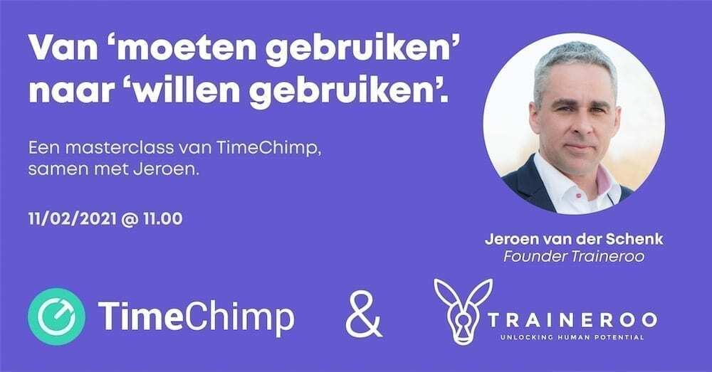 Traineroo-TimeChimp-Masterclass-How-to-implement-new-software-with-success
